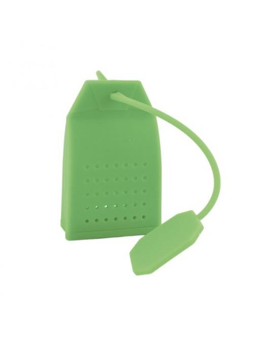 Ситечко для заварювання чаю «Пакетик» колір - зелений