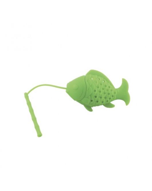 Ситечко для заваривания чая «Рыбка» Зеленый