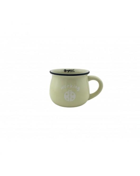 """Чашка """"Vintage"""" 350 мл колір - бежевий (120205)"""
