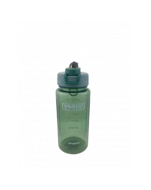 "Бутылка для воды ""Sports"" с брелком Зеленый (9242)"