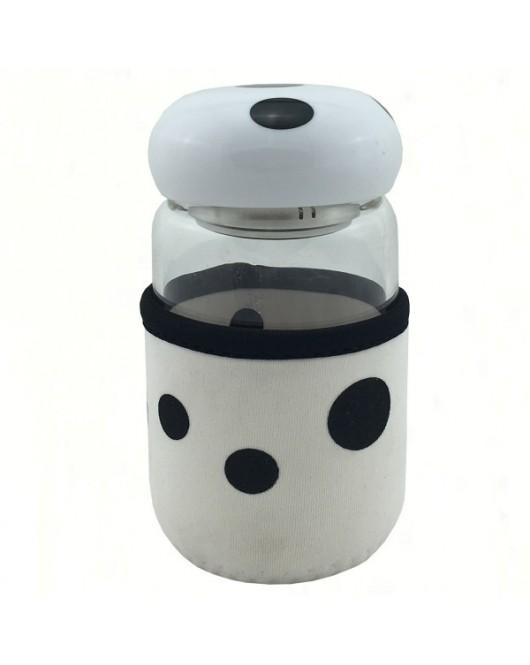 Бутылка детская для воды в чехле 320 мл Белый (JL-112)