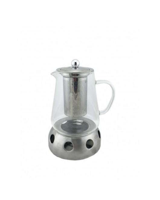 """Набор для чая из 2 предметов """"Заварник 500 мл и печка-подставка"""" (440)"""
