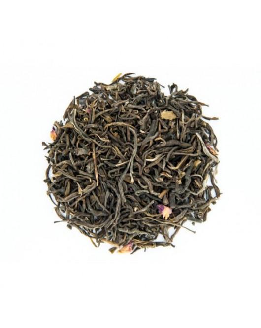 Черный ароматизированный чай TEAHOUSE Огонь 100 г