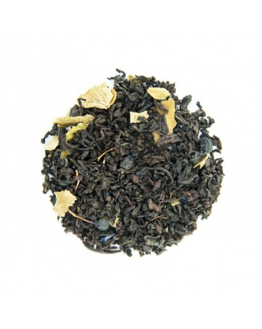"""Черный чай TEAHOUSE """"Черника в йогурте"""" 250 г"""