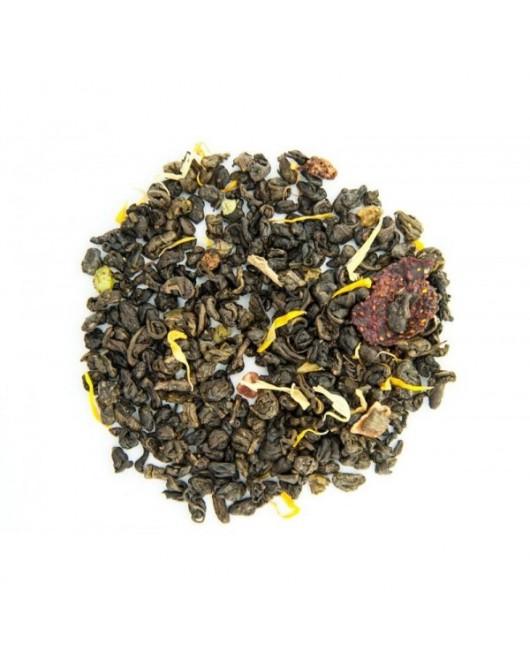 """Чай зелений TEAHOUSE """"Манговий рай"""" 100г (№410)"""