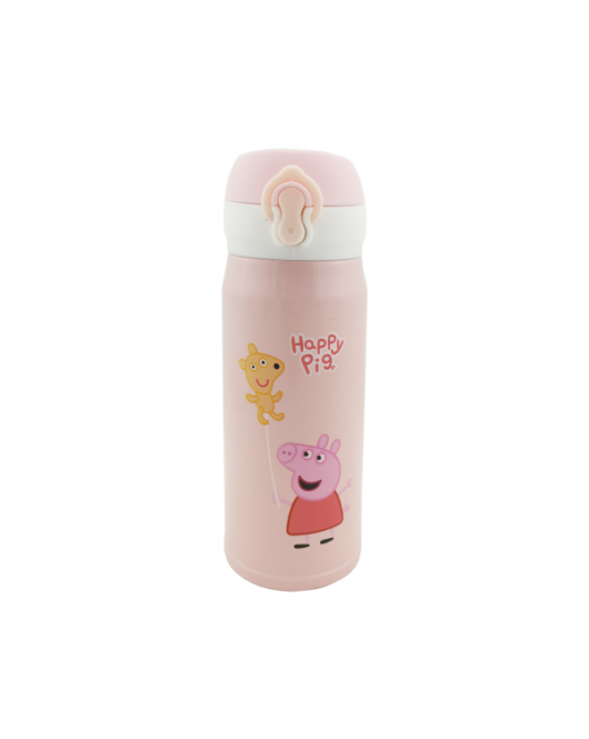 Термокружка для детей Свинка Пеппа с шариком 300мл (6979)
