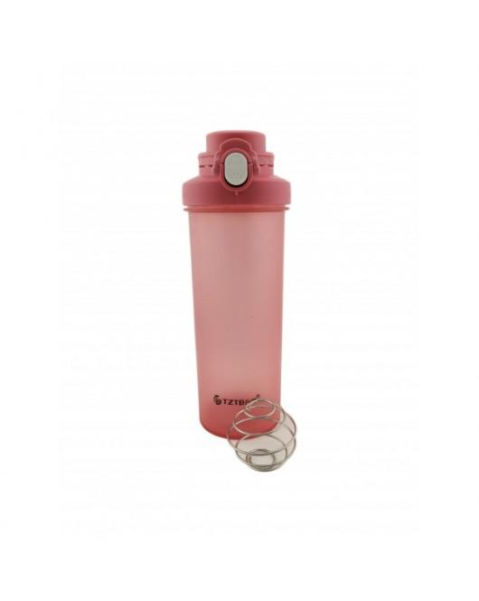 Бутылка - Шейкер Розовый 750 мл (TB-1921)