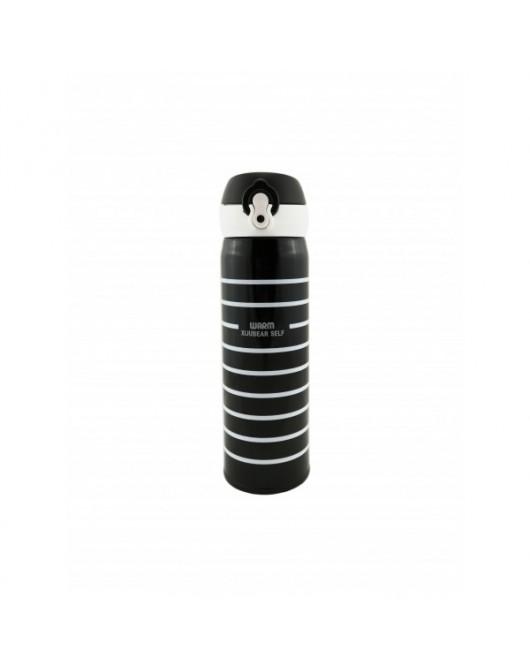 """Термокружка Термокружка """"Striped"""" колір - чорний 500мл (HS-7052)"""