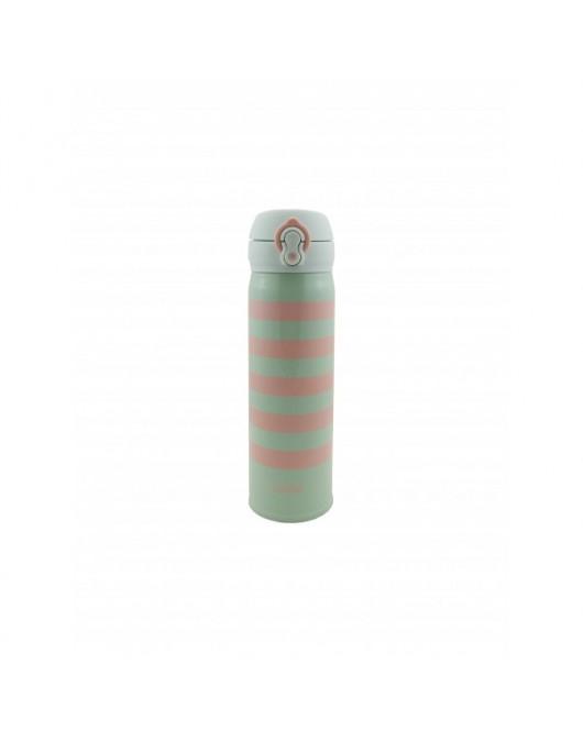 """Термокружка """"Striped"""" Розовый 500мл (HS-7054)"""