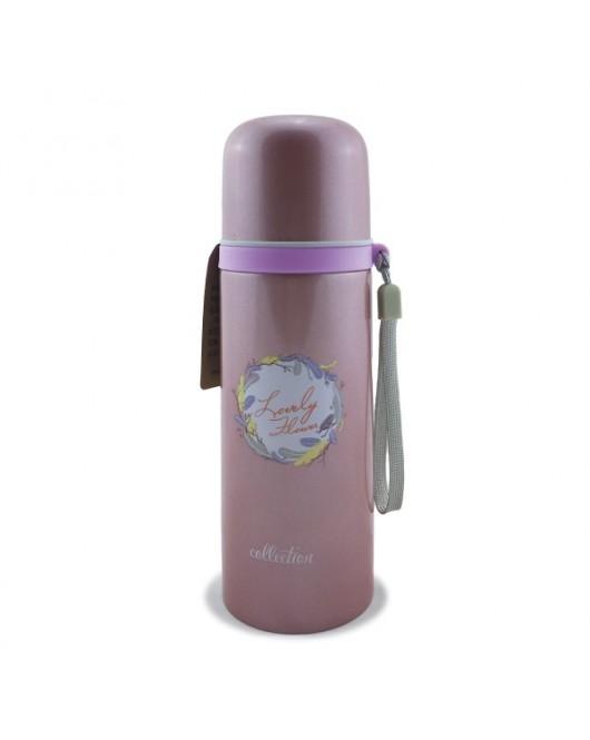 Термос Розовый 350мл (DY-BW030)