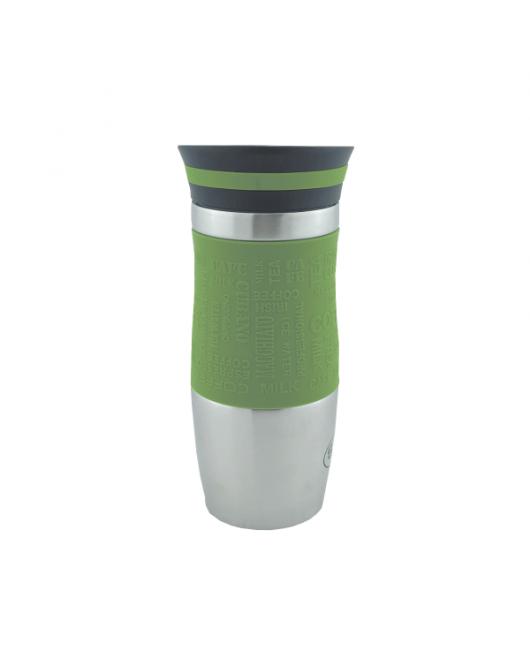 Термокружка Con Brio 350мл Зеленый (СВ-364)