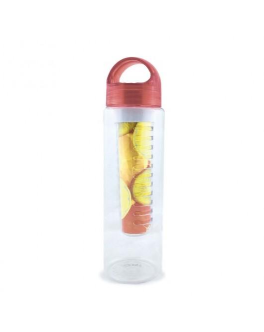 Пляшка для води і напоїв 800 мл червона (NOHS-668)