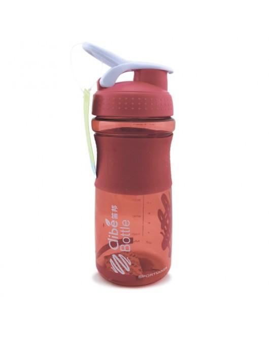 Бутылка для воды 650 мл Красный (DB-2075)